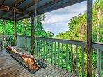 Deck,Porch,Forest,Vegetation,Balcony