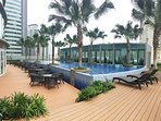 *An outdoor pool & a well equipped gym (RM50 per person per day use)