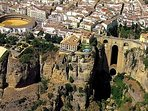 The town of Ronda  7km from Arriate