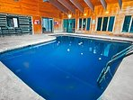 Welcome To The Bushkill Creek Lodge Indoor Pool Home!