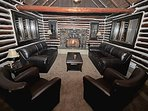 Cozy Den W/ Fireplace