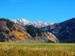 The Salt River Mountain Range.