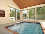 Take A Soothing Soak In The Hot Tub After A Busy Day