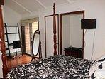 Master Bedroom with teton views and balcony