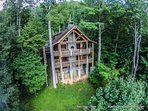 Built of the highest grade natural materials in the age-old tradition of cabin craftsmanship.