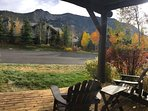Fall View from deck of #883