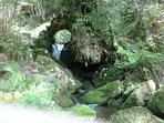 parte de la cascada de salbideko erreka