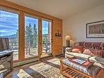 Floor to ceiling windows offer maximum exposure to the Ten Mile Range.