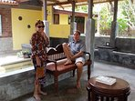 guests relaxing and enjoying the serine surroundings