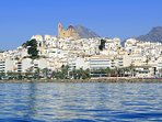 The town of Altea.