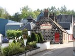 Stroll to the Aberlour Chivas distillery just yards down the road from Aberlour Retreat