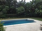 Pool and part of garden