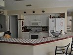 Our fully furnished kitchen area