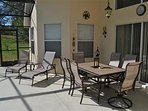 Our outdoor covered Lanai... huge outdoor area