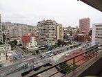 Vista desde la terraza del departamento