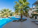 The complex is very close to the sandy beach of Panormo!