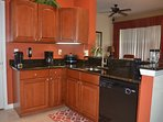 Spacious full kitchen with all appliances provided