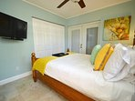 Villa Two Bedroom Two (Queen Bed) Features LED Television, Full Size Dresser + Closet...
