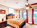 1st Floor Queen Suite with Private Bath feat. Private Balcony and Gulf Views