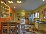You'll love cooking up your favorite meal in this fully-equipped kitchen.