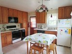 Full Kitchen - with dishwasher-265 Chatham Road Harwich Cape Cod New England Vacation Rentals