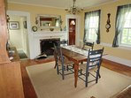 Dining Room - 265 Chatham Road Harwich Cape Cod New England Vacation Rentals