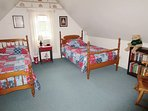 Upstairs Bedroom #3 2 Twins Beds -access is from room with double bed- 265 Chatham Road Harwich Cape Cod New England...