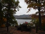 Lake Santeetlah - we are located about three miles from the boat launch at Massey Branch Road.