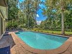 Pool overlooking lagoon