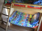 built-in kids bunks