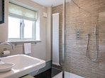 Bedroom 2 Ensuite walk-in shower