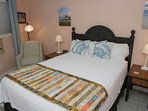 Bedroom with comfy Sealy Posturepedic queen bed plus separate AC/Heat in bedroom. RARE at Seaside V