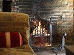 Elizabethan Inglenook Fireplace