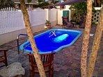Private Pool off Billiard Room