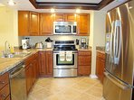Remodeled kitchen - filtered water, stainless steel finish appliances - & view!