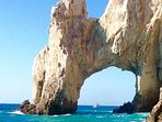 The famous Los Arcos separating the Sea of Cortez & the Pacific Ocean. A great place to scuba dive!!