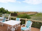 Your Walkway from Sunset Vistas, Tiki Bar, Pools, Front Deck/Lounge to Beach.