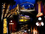 Some of the sights you'll see, including the streetcar!