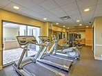 Get your legs moving in the community fitness center!