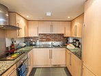Dishwasher, full oven, microwave, fridge freezer, washer/drier.