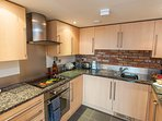 Fully equipped, modern kitchen with everything you need for a comfortable stay!