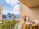 Royal Kahana 6th Floor Studio Accommodations - Relax and Listen to the sound of ocean waves on your private lanai