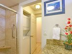 Very convenient - washer and dryer located in the condominium