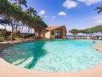 Royal Kahana has a heated oceanfront pool - beach or pool - enjoy both