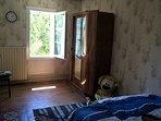 La chambre Petit Prince, pour 1 adulte ou deux enfants (lit 140).
