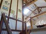 Mezzanine/hallway