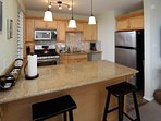 Pretty kitchen that's ready for your cooking needs