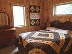 Both bedrooms have queen beds
