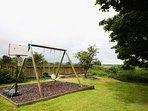 Children's swings.