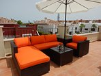 Rooftop solarium for you to enjoy the sun